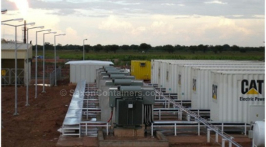 Containerised Power Stations